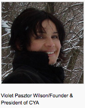 Violet Pasztor Wilson, founder and CEO of Canadian Yoga Alliance